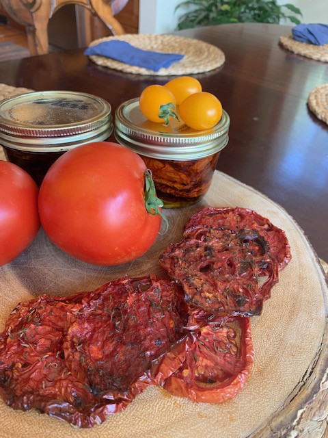 tomatoes, and dried tomatoes