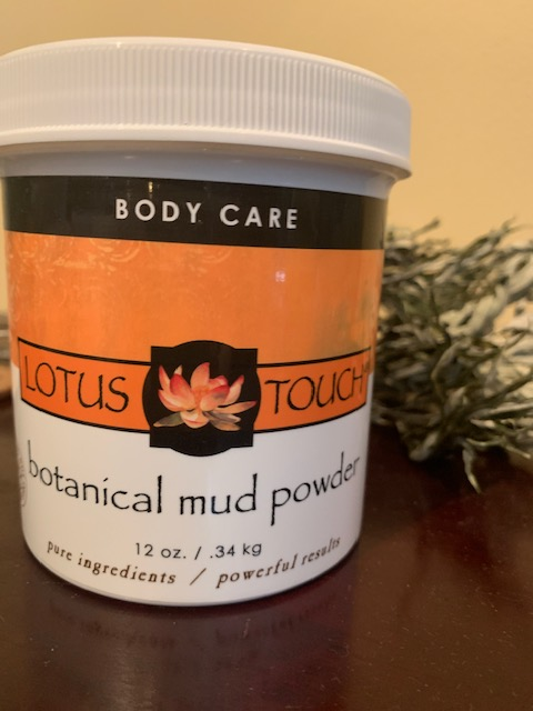 Botanical mud powder, mud wrap seattle