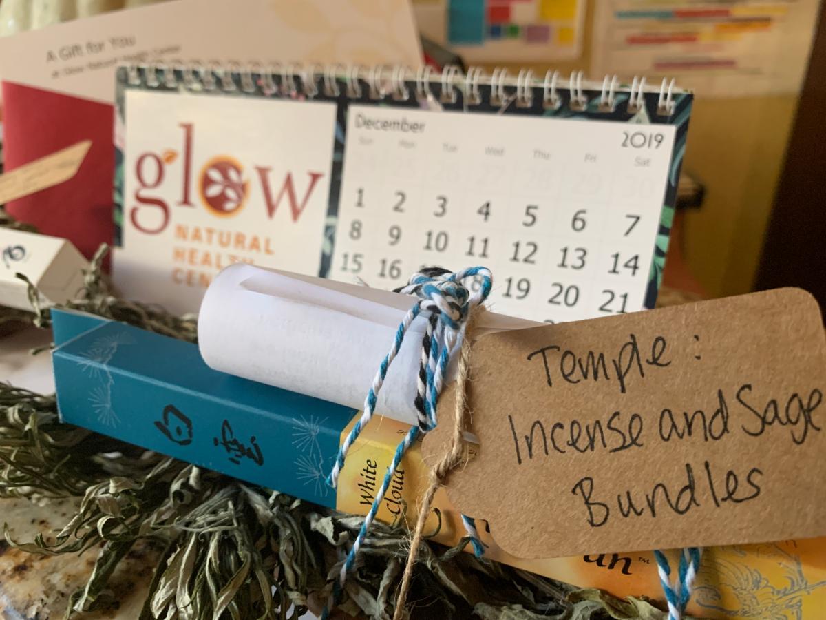 incense and sage bundles