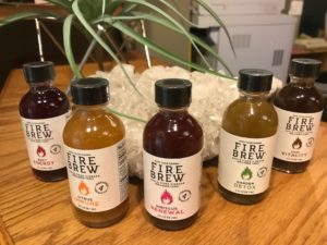 Samples of fire cider Seattle