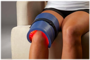 Light therapy for knee pain